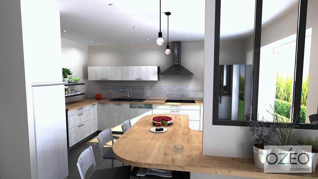 Julien Dehaba Poncelet On Instagram Ozeocuisines Saintavold Forbach Metz Lorraine Cuisines Realisation Concept Concep In 2020 Decor Breakfast Bar Home Decor