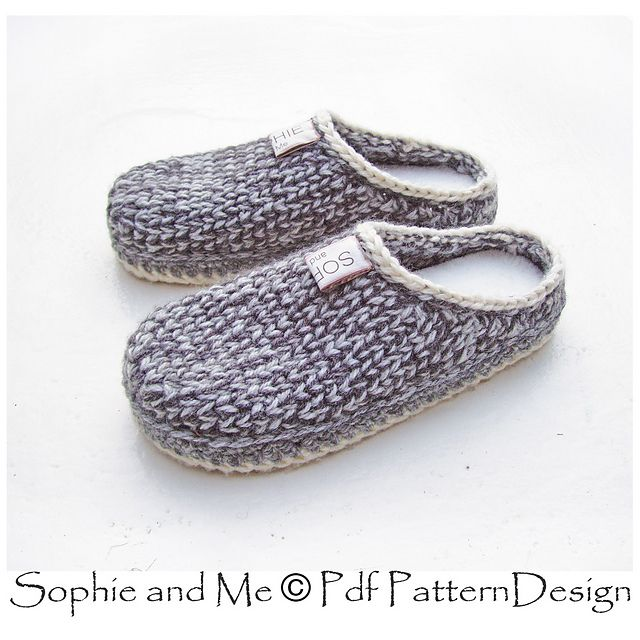 a67b6dd538794b Ravelry  Slipper-Clogs pattern by Sophie and Me-Ingunn Santini