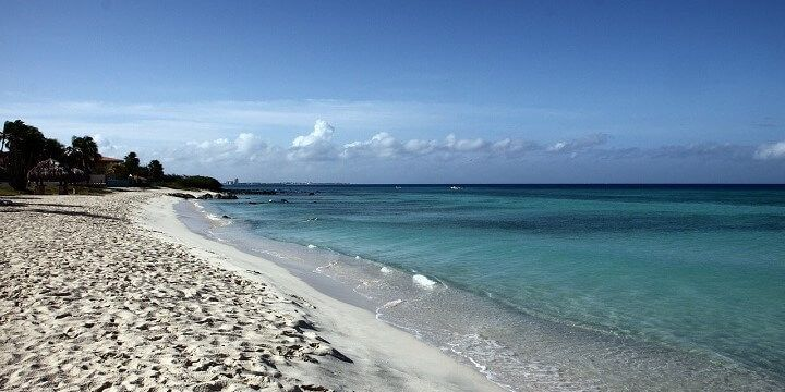 Beach, Aruba, North America