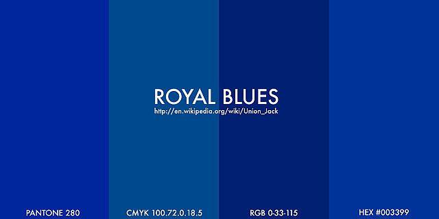 Royal blue color chart images for Dark blue color chart