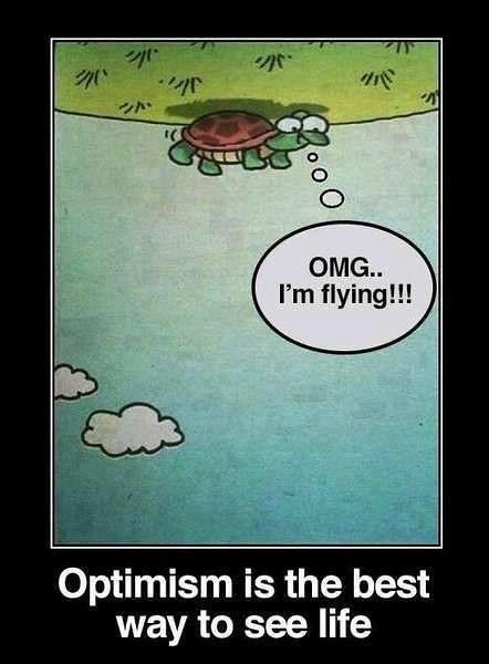 ❝ Optimism…