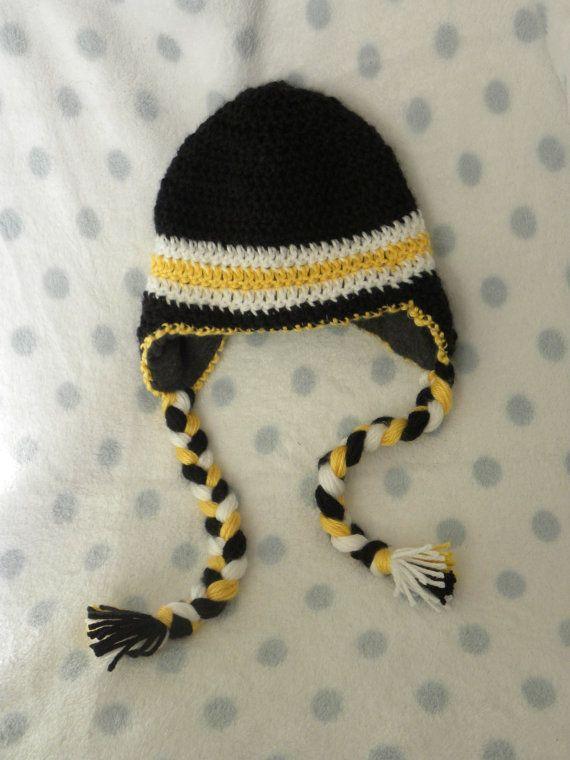 Iowa Hawkeye Hat Crochet Hats Booties Crochet Hats