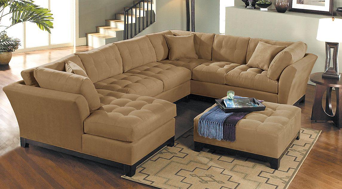 Beige Upholstered Living Rooms & Sets