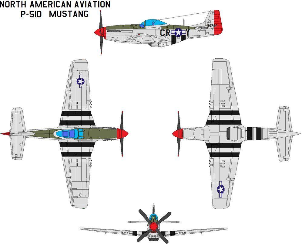 North American Aviation P-51 Blueprints Visit New Zealand