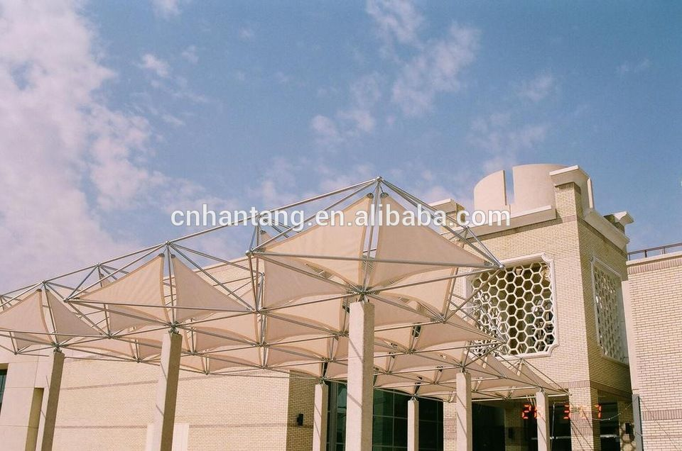 stainless steel space frame roof system canopy | alibaba | Pinterest ...
