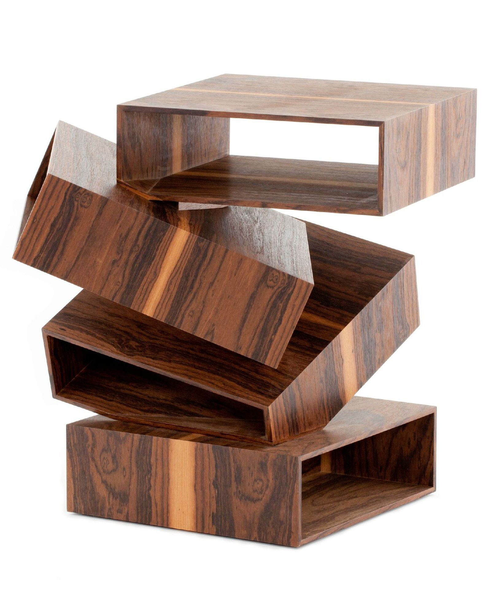 Solid wood coffee table BALANCING BOXES Porro