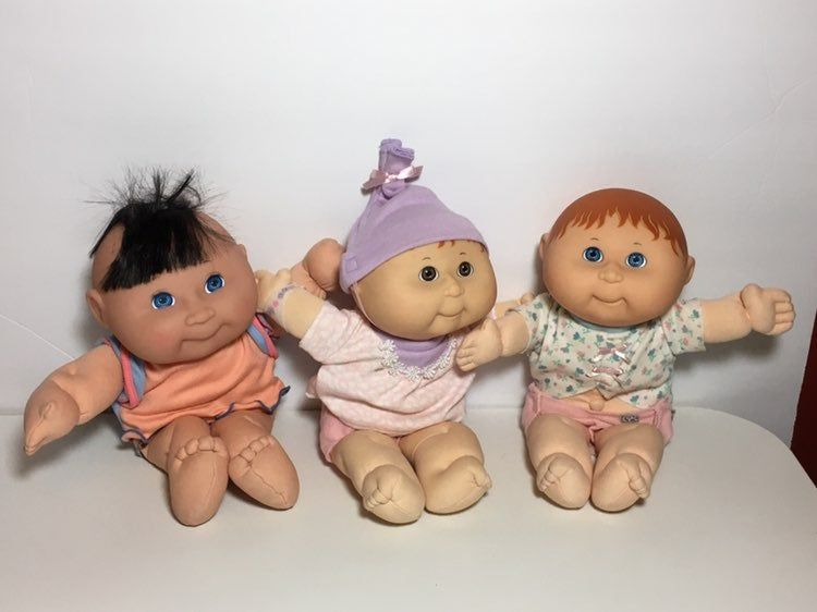 Cabbage Patch Kids Hasbro And Mattel Teeny Preemies No Issue They Come As Is Cabbage Patch Kids Dolls Cabbage Patch Kids Patch Kids