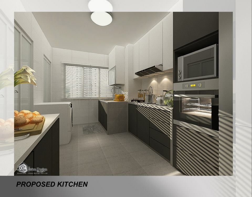 Lovely Hdb Resale 3 Room Contemporary At Changi Village Kitchen Design Small Interior Design Singapore Kitchen Design