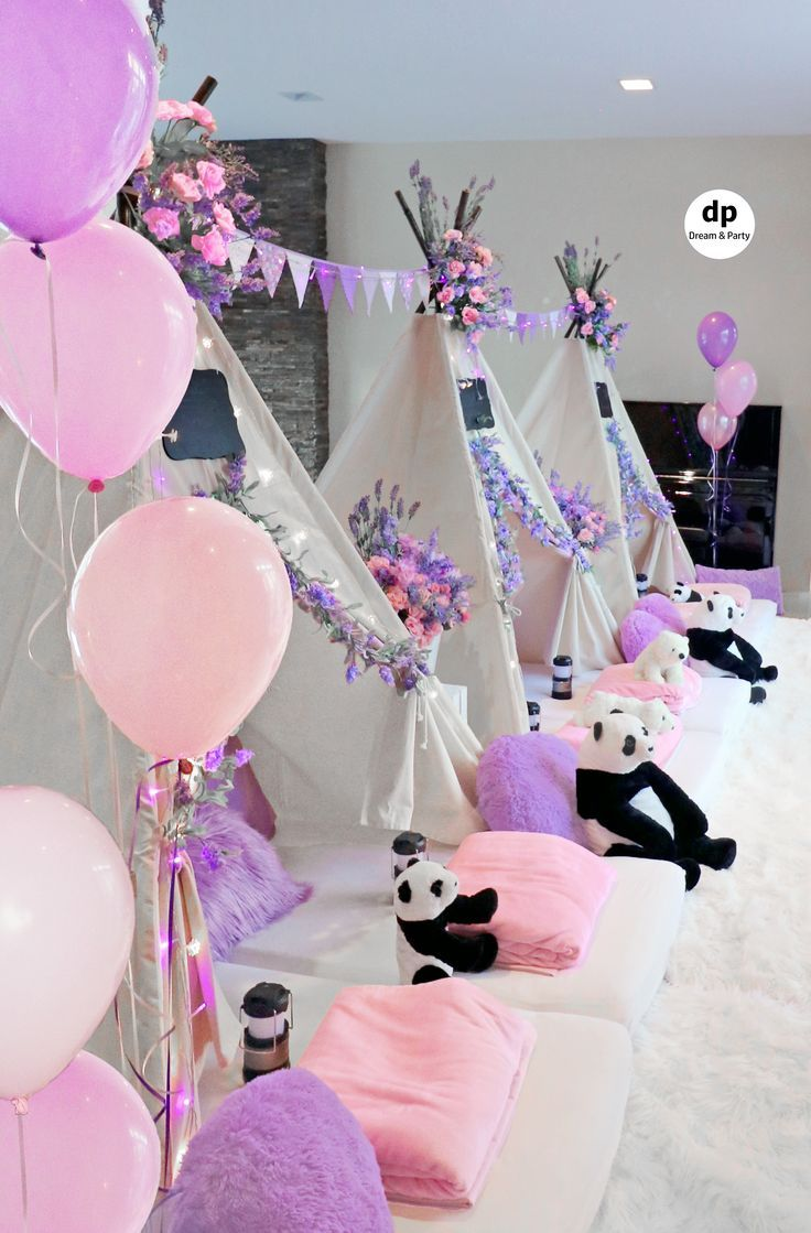 Sleepover Party Slumber Party Party In Purple Sleepover Decor Sleepover Decor Slumber Sleepover Party Slumber Party Birthday Sleepover Birthday Parties
