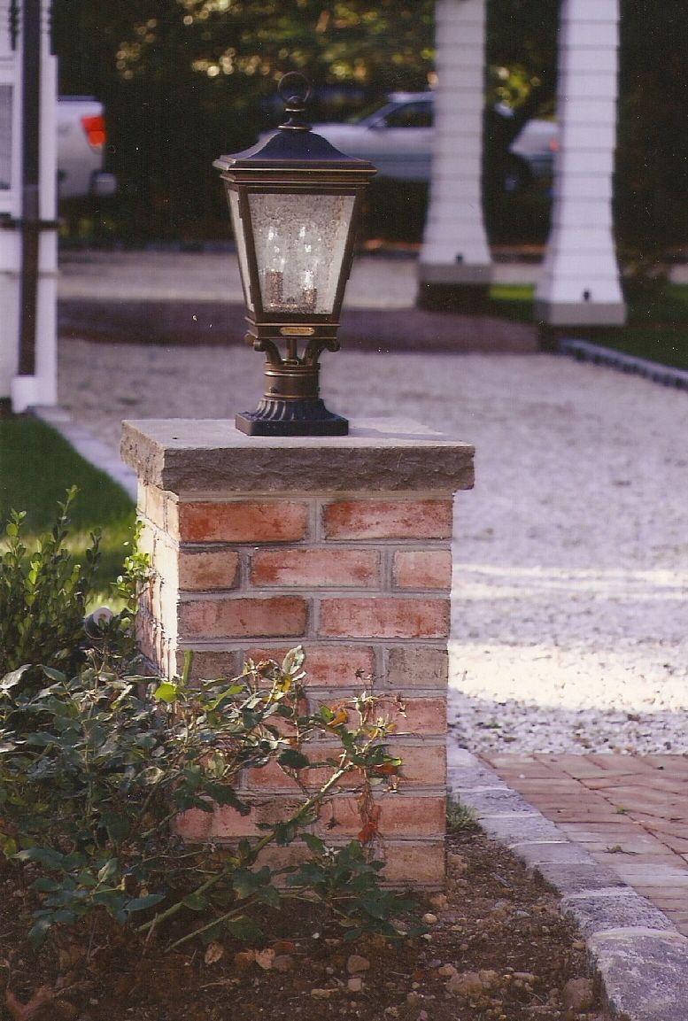 The Best Way To Build Brick Columns