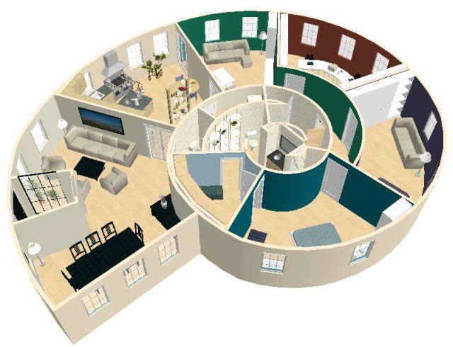 I Love This But With No Walls To Separate Kitchen And Living Areas Sims House Design Sims House Plans Architectural House Plans