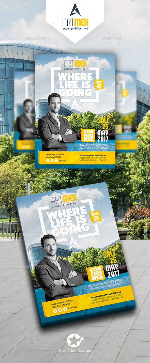 seminar flyer template psd indesign indd flyer templates