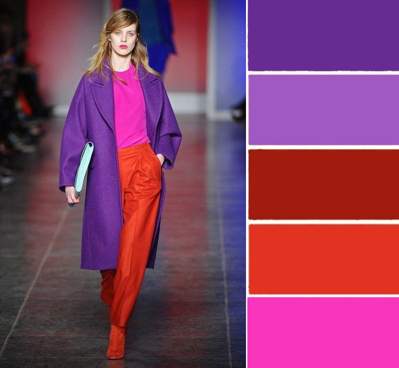 Малиновый цвет сочетание с другими цветами в одежде
