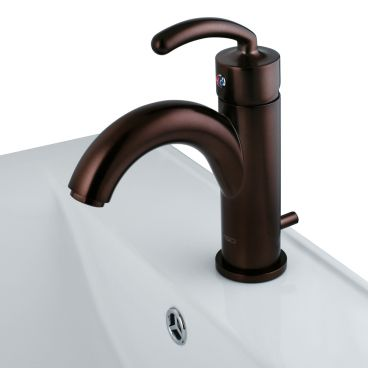 VIGO Oil Rubbed Bronze Single Hole Faucet (VG01025RB) | Bathroom ...