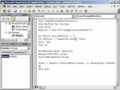 Transfer Data from Multiple Workbooks into Master Workbook