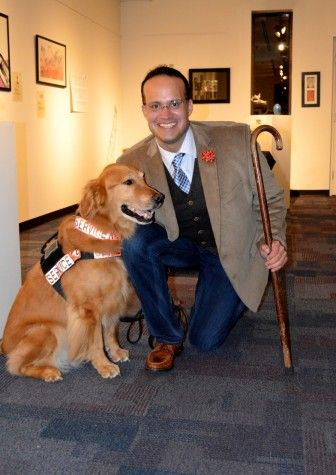 Until Tuesday Came Service Animal Working Dogs Dogs Golden