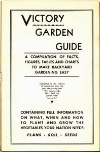 Victory Garden Guide – Free PDF | Garden guide, Gardens and Plants