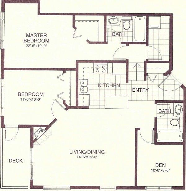 900 Sq Ft Good Start Needs Some Adjustment Small House Floor Plans Small House Plans Tiny House Plans