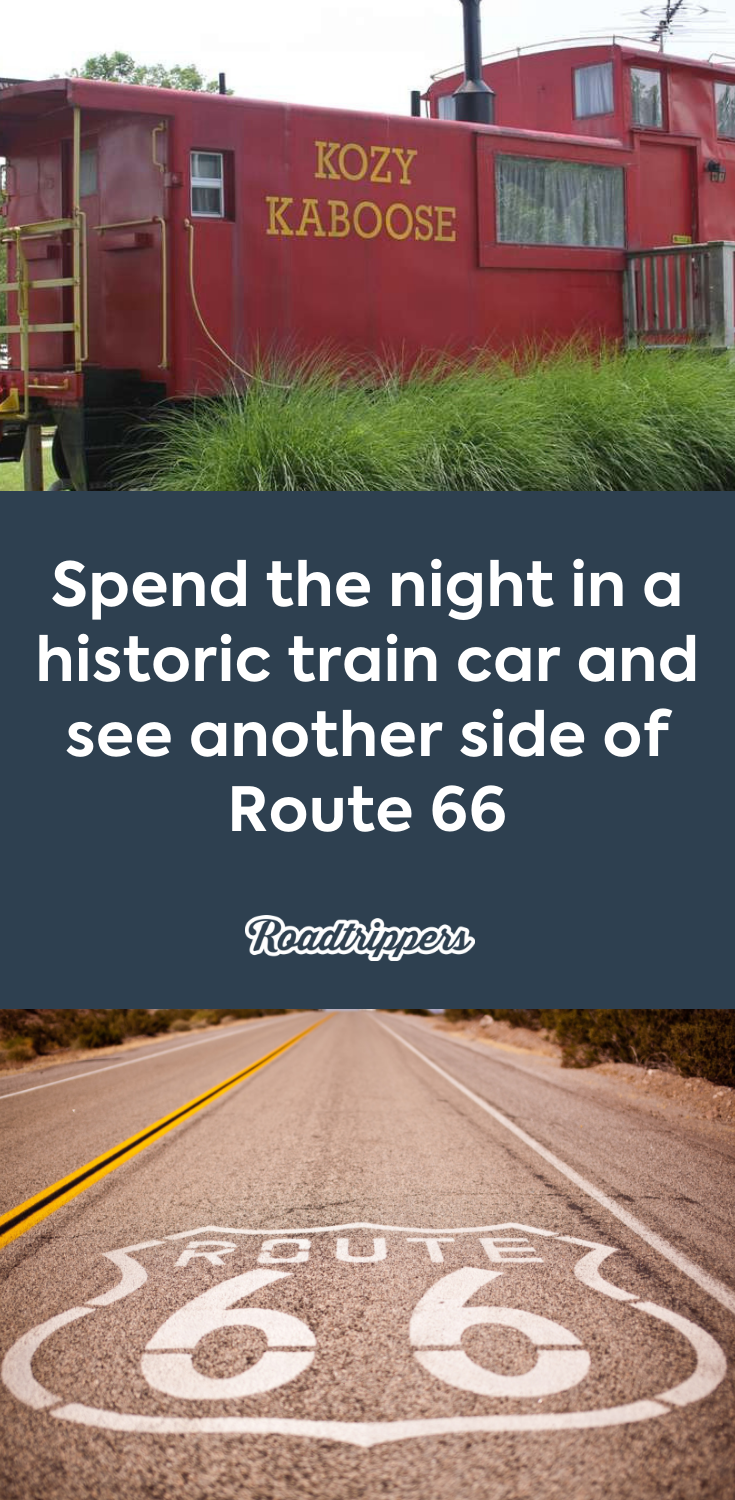 Route 66 En Camping Car : route, camping, Route