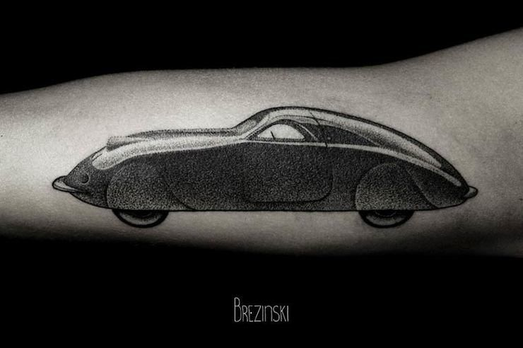 Surreal Dotwork Tattoos By Ilya Brezinski Tattoos And Body Art - Surreal black ink tattoos by ilya brezinski