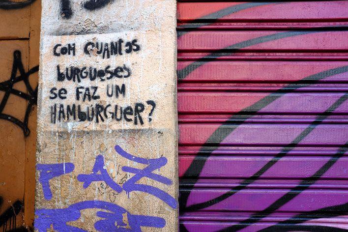 Mural na rua Joaquim Silva, Rio de Janeiro