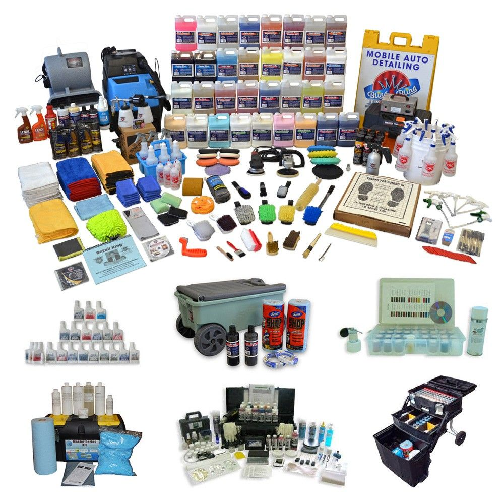 We provide highest quality mobile auto detailing equipment