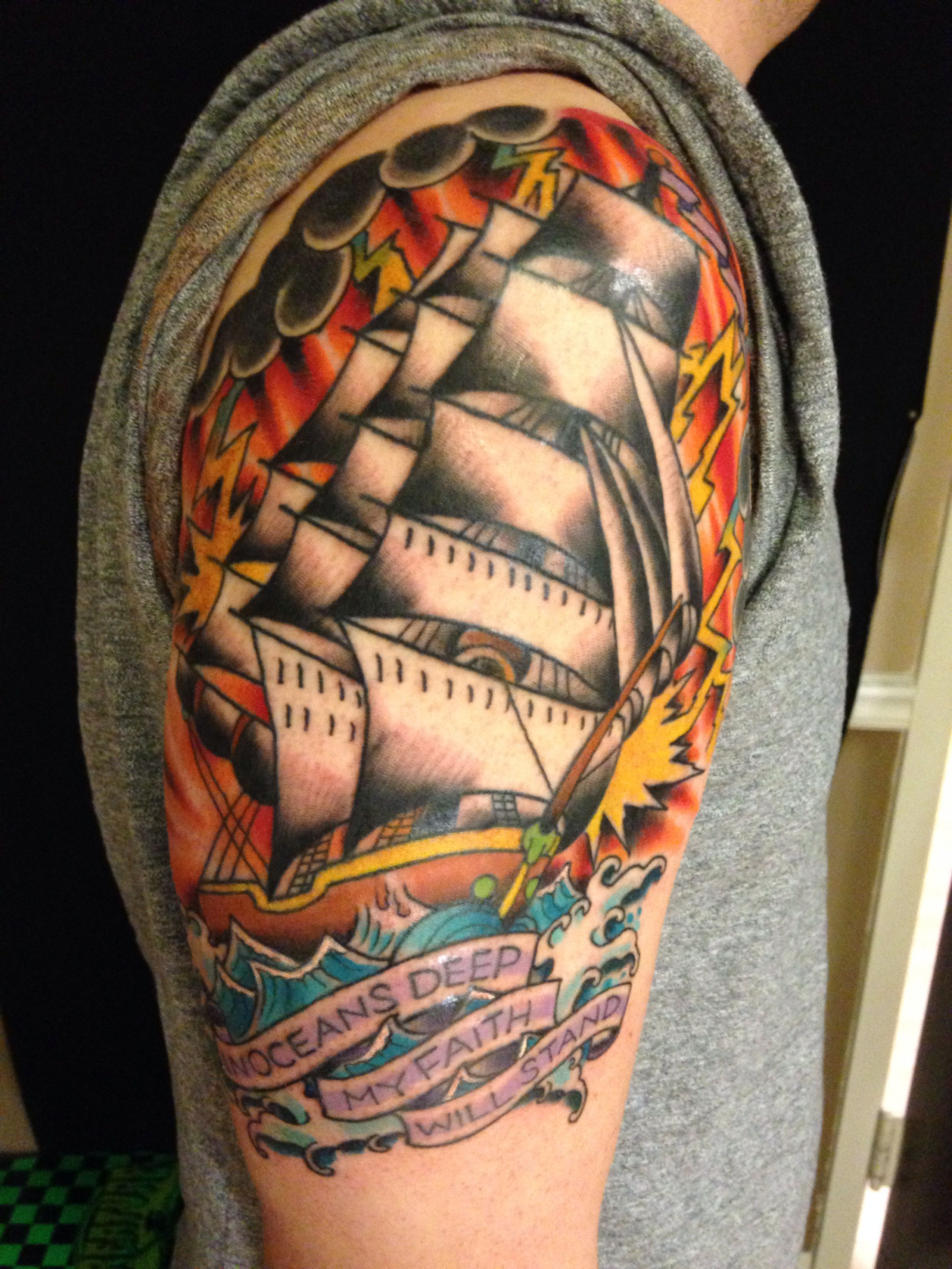 Tattoo Traditional Ocean American