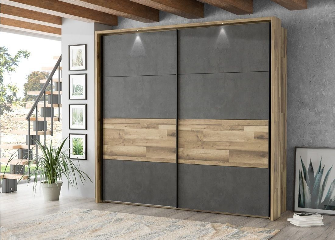 Armoire 2 Portes Coulissantes Ricciano Pas Cher Armoire But Iziva Com 1000 In 2020 Wardrobe Design Bedroom Sliding Door Wardrobe Designs Bedroom Furniture Design