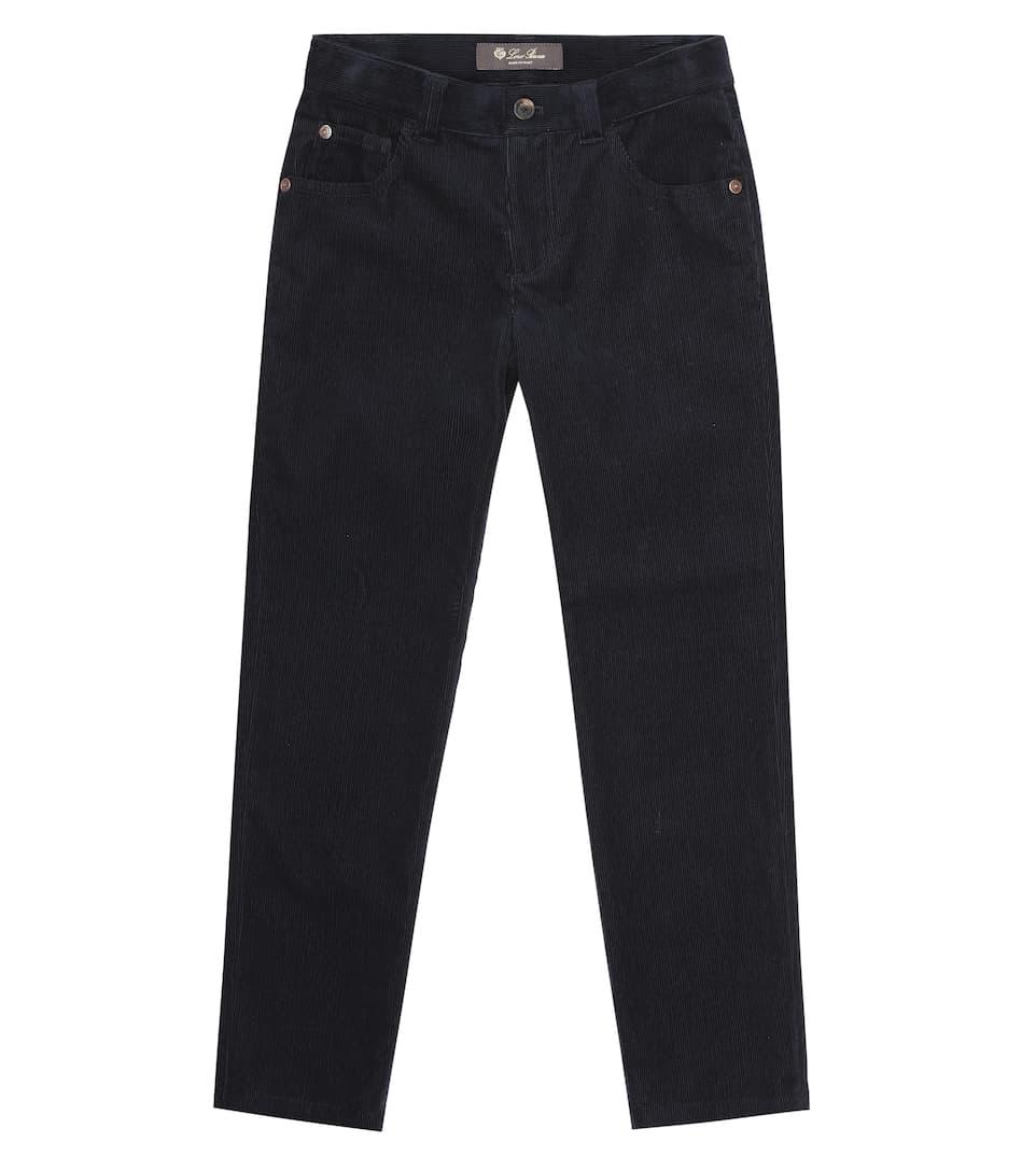 5 Tasche Slim corduroy pants