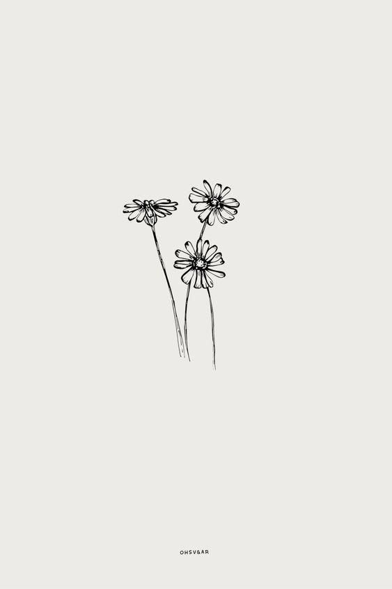 24 – classic sketches – #classical #sketches #tattooideenklein  #flowertattoos - flower tattoos -  2