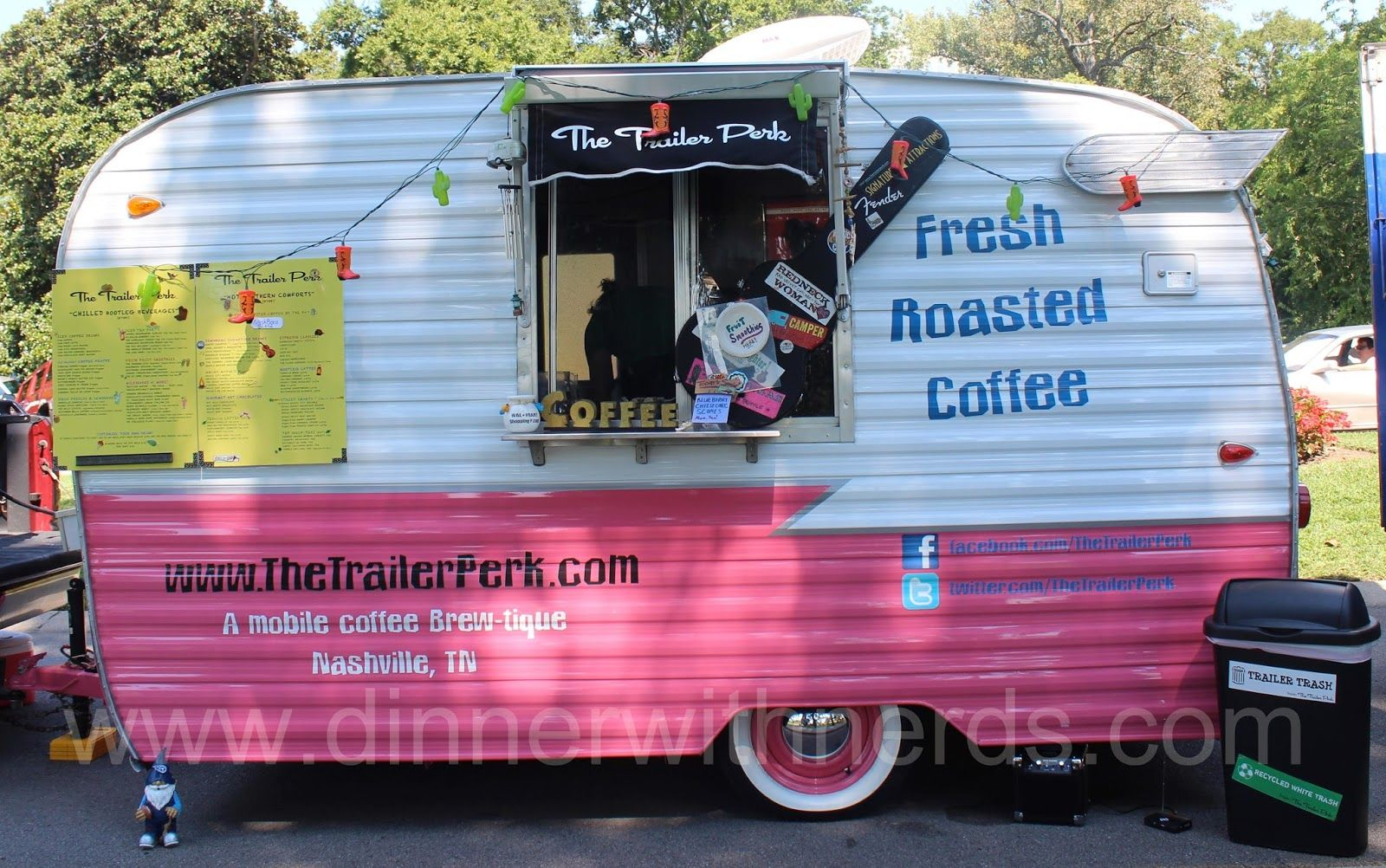 Trailer Perk Nashville Food Truck...How cute