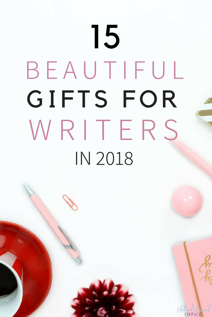 This list has some beautiful gifts for writers for christmas, or ...