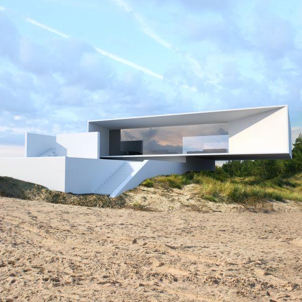 House | Project by Roman Vlasov, via Behance | Modern ...