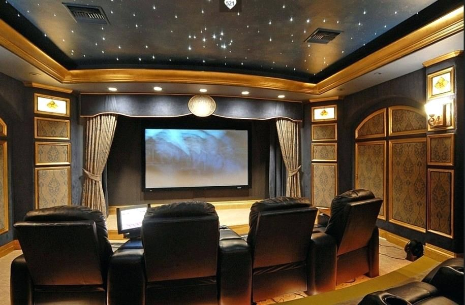 Home Theater Room Decorating Ideas Theatre Decoratinghome