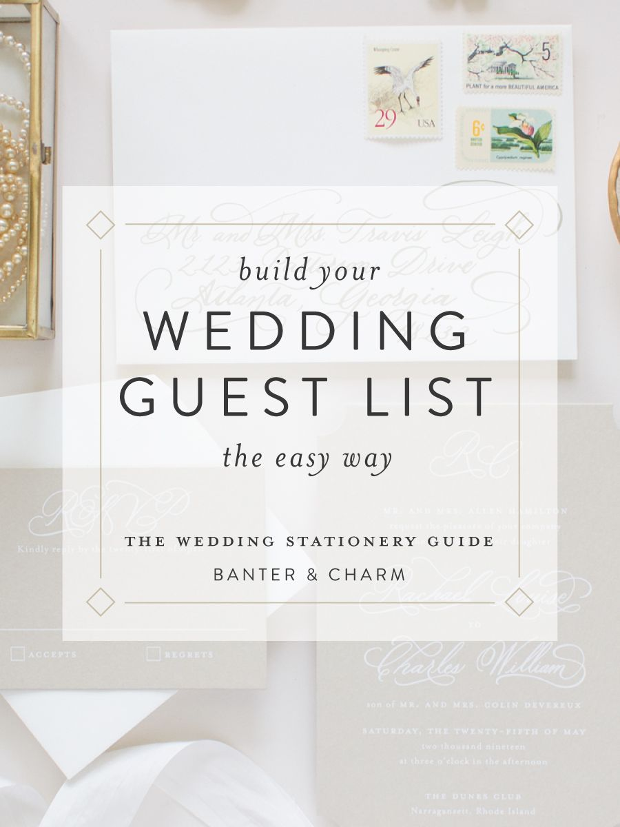 Easy Way to Gather Mailing Addresses for your Guest List | Pinterest ...