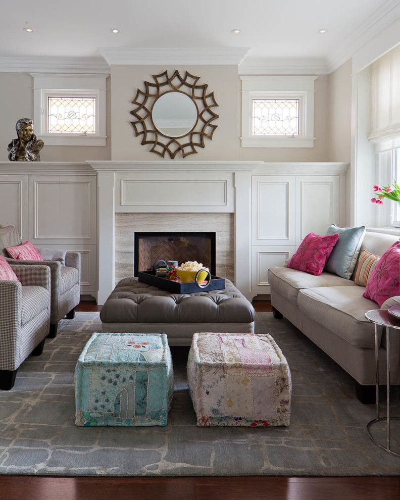 Living Room Poufs Pouf  Sandra Best Decor  Poof  Pinterest
