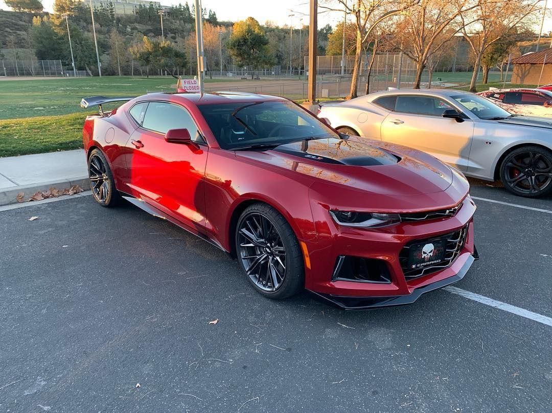 Garnet Red Zl1 Custom Muscle Cars Camaro Dream Cars