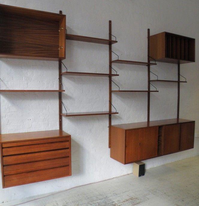Modular Wall Shelving cado royal modular wall shelving system - shelving system ideas