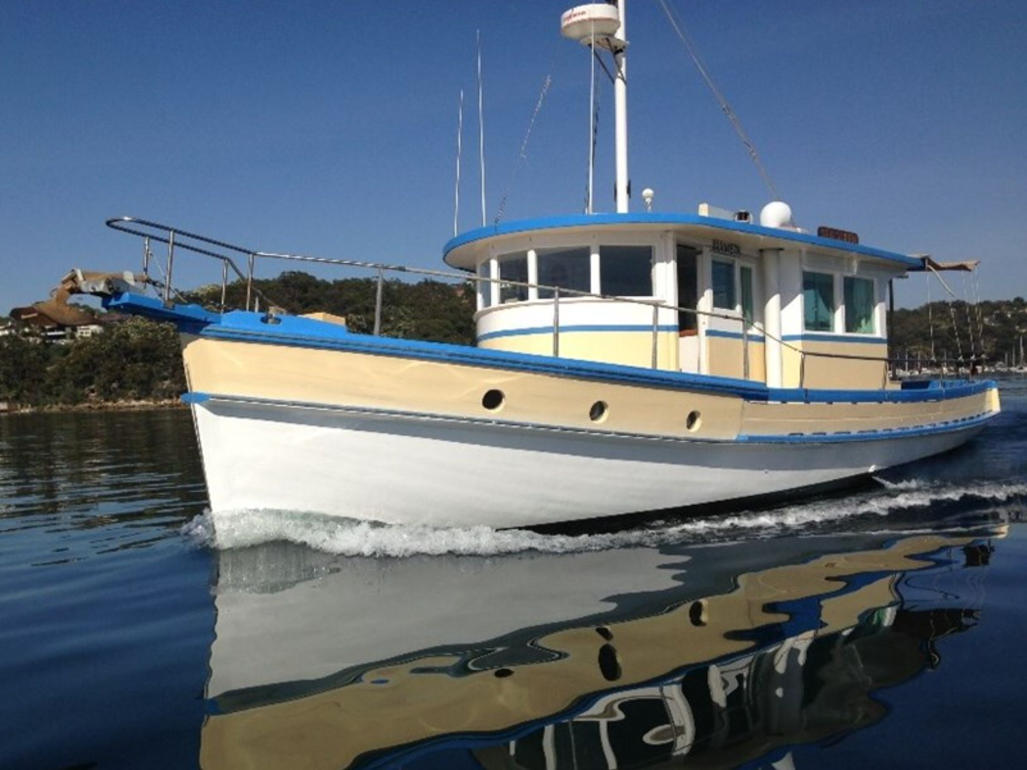 1946 Converted Cray Boat Classic Timber Cruisers And