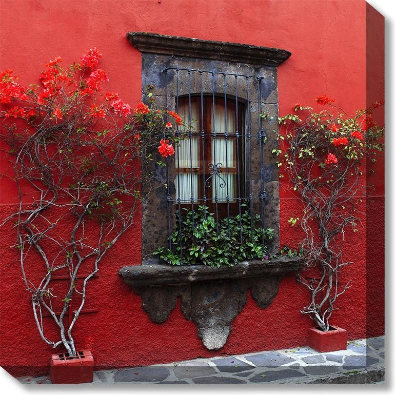 Roses In Red Outdoor Canvas Art Outdoor Wall Art Outdoor Canvas Outdoor Walls