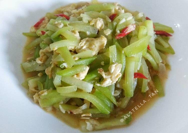 Resep Tumis Labu Siam Oleh Alstella Tan Resep Resep Masakan Resep Masakan Cina Masakan