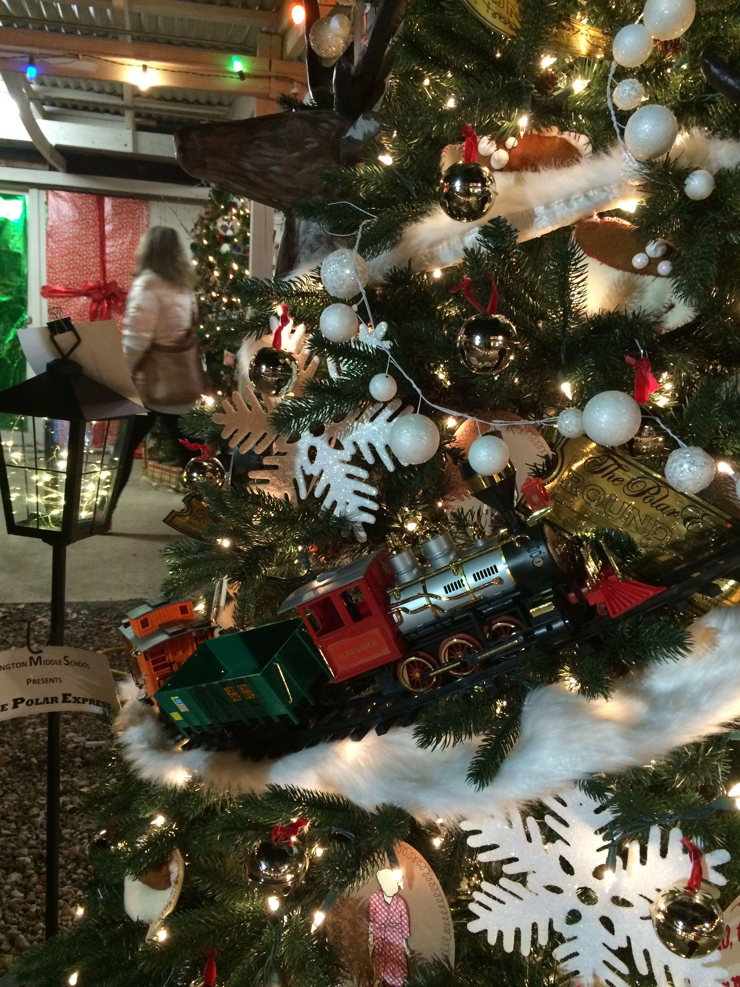 Polar Express Christmas Tree   Christmas tree themes ...