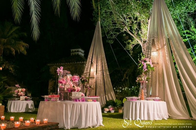 decoracion boda en jardin elegant villa wedding