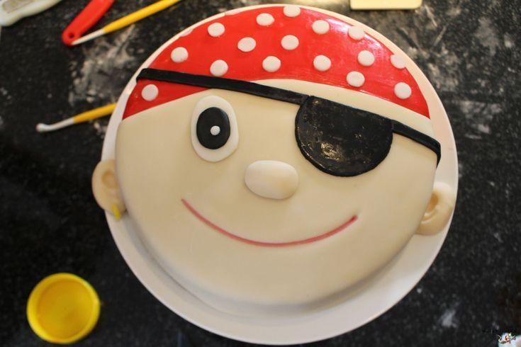 Pirate cake …  – ideen Kindergeburtstag – birthday