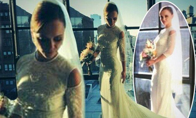 Christina Ricci shares photos in her stunning Givenchy wedding ...