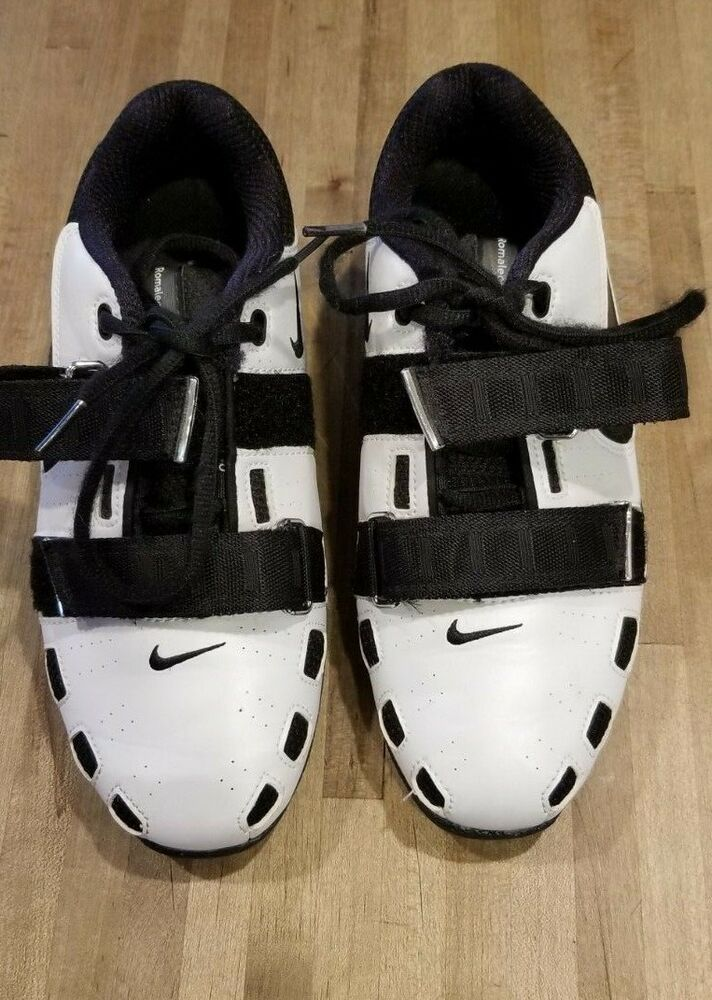 a27fd203045a NIKE ROMALEOS 2 MENS WEIGHTLIFTING SHOES (SIZE 7) WHITE   BLACK (USED)   fashion  clothing  shoes  accessories  mensshoes  athleticshoes (ebay link)