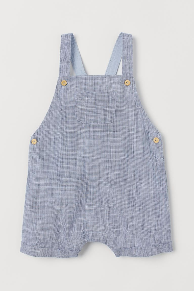 Navy Blue Shirt Organic Gray Linen Fabric Newborn Overalls For Baby Boy And Girl Toddler Vintage Overalls