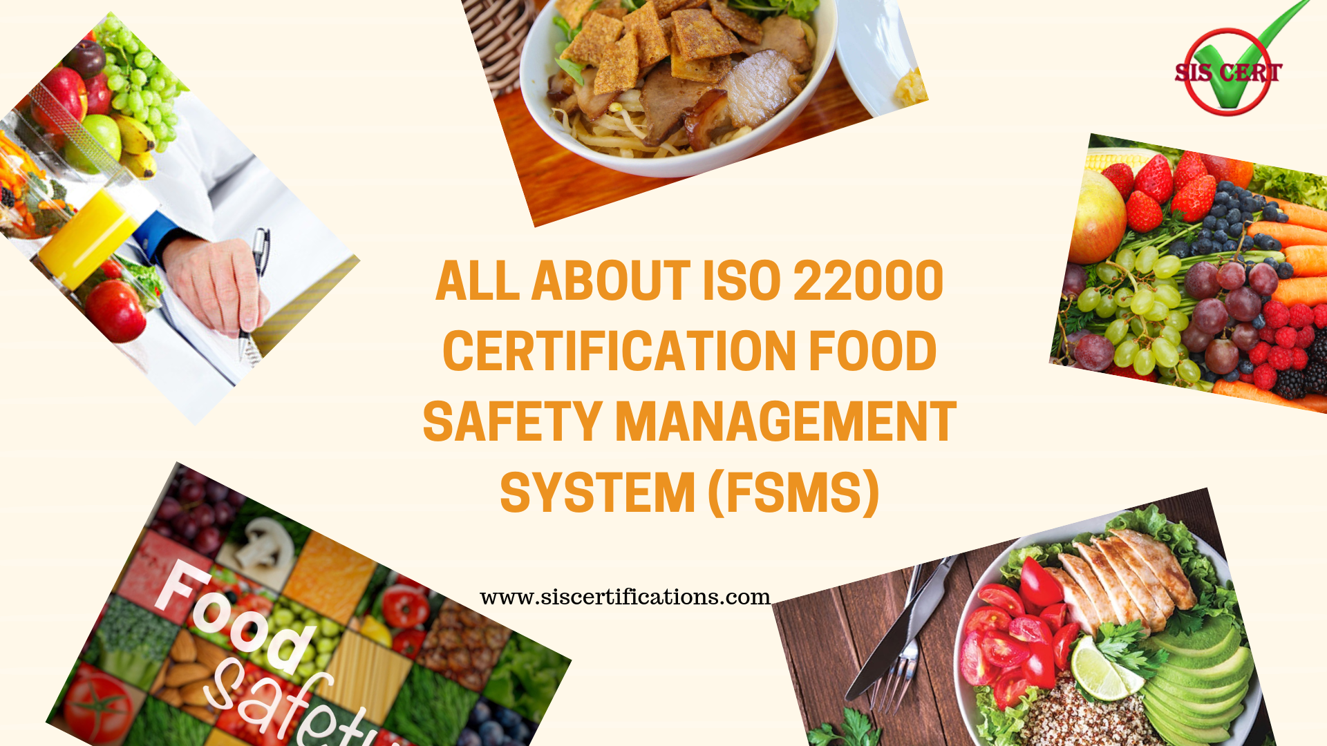 All about ISO 22000 Certification Food Safety Management
