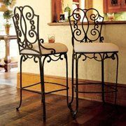 Bombay Company Verandah Bar Stools Iron Bar Stools Wrought Iron Furniture Furniture Design Chair
