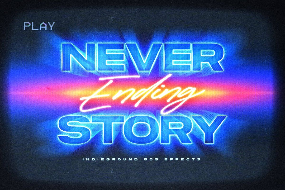 80s Text Effects Complete Bundle In 2020 Text Effects Photoshop Retro Retro Text
